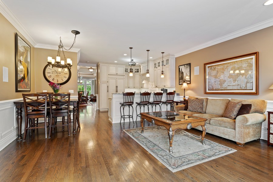 Real Estate Photography - 2514 N Greenview, Chicago, IL, 60614 - Kitchen / Breakfast Room