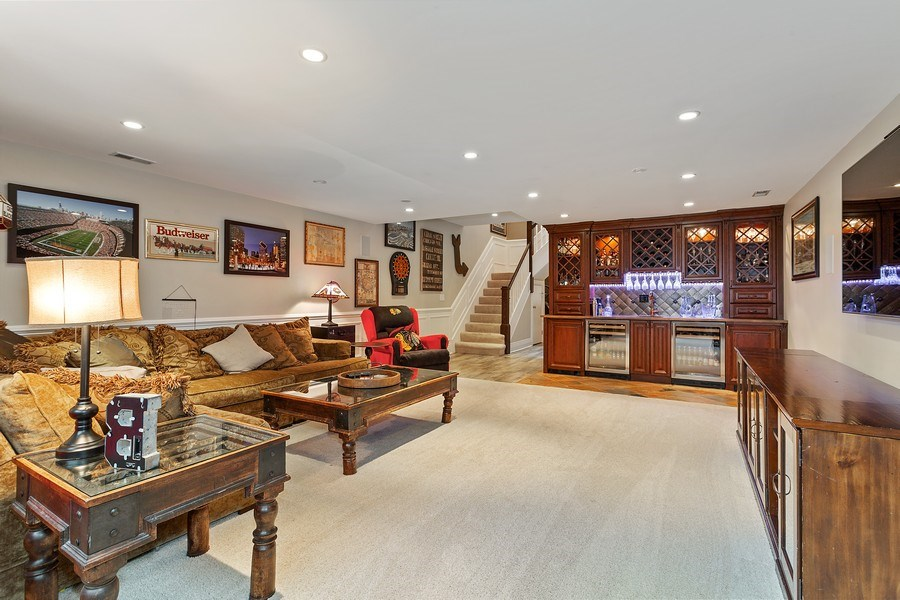 Real Estate Photography - 2514 N Greenview, Chicago, IL, 60614 - Rec Room
