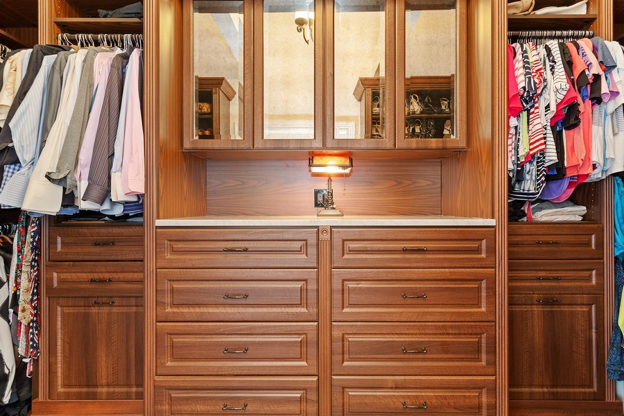 Real Estate Photography - 2514 N Greenview, Chicago, IL, 60614 - Master Bedroom Closet