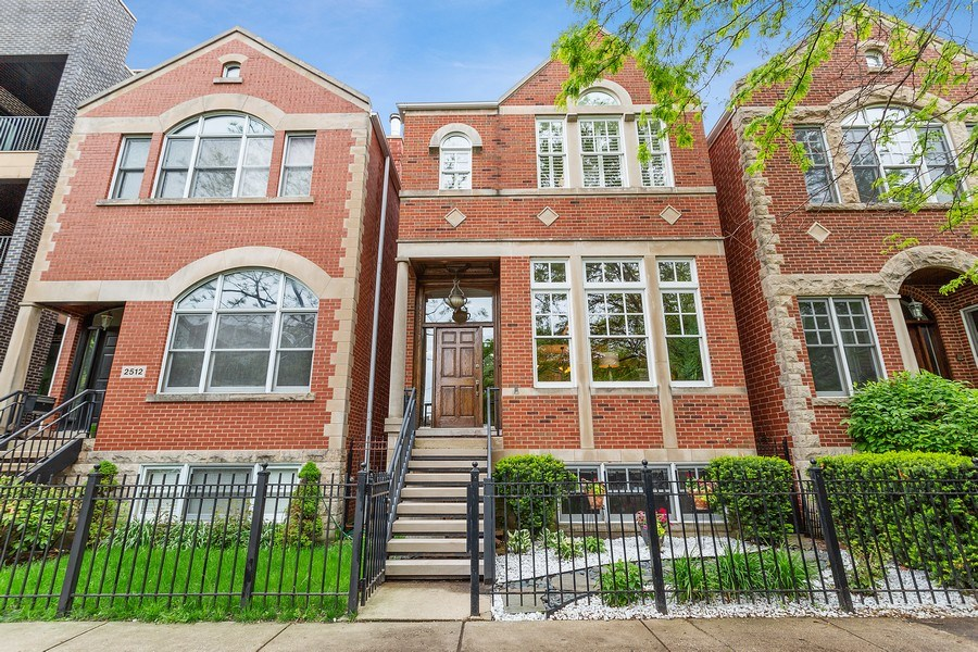 Real Estate Photography - 2514 N Greenview, Chicago, IL, 60614 - Front View