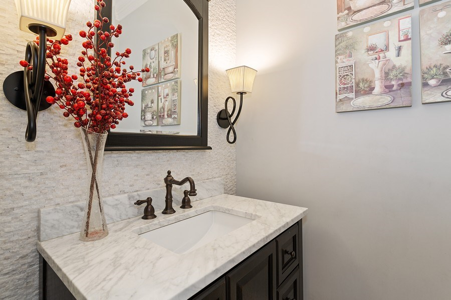 Real Estate Photography - 2514 N Greenview, Chicago, IL, 60614 - Half Bath