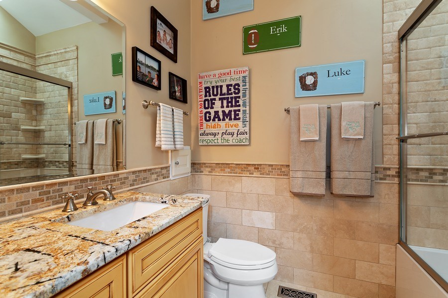 Real Estate Photography - 2514 N Greenview, Chicago, IL, 60614 - Bathroom
