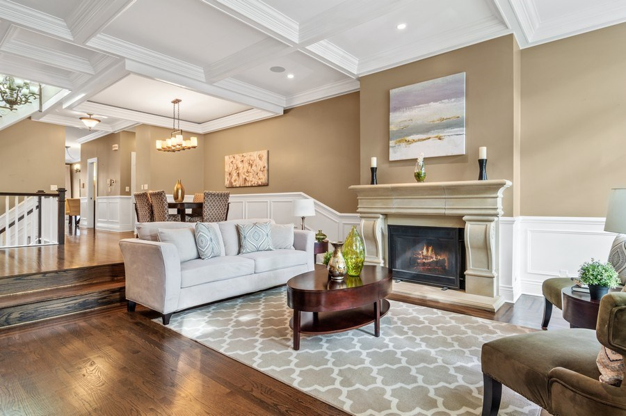 Real Estate Photography - 2514 N Greenview, Chicago, IL, 60614 - Living Room / Dining Room