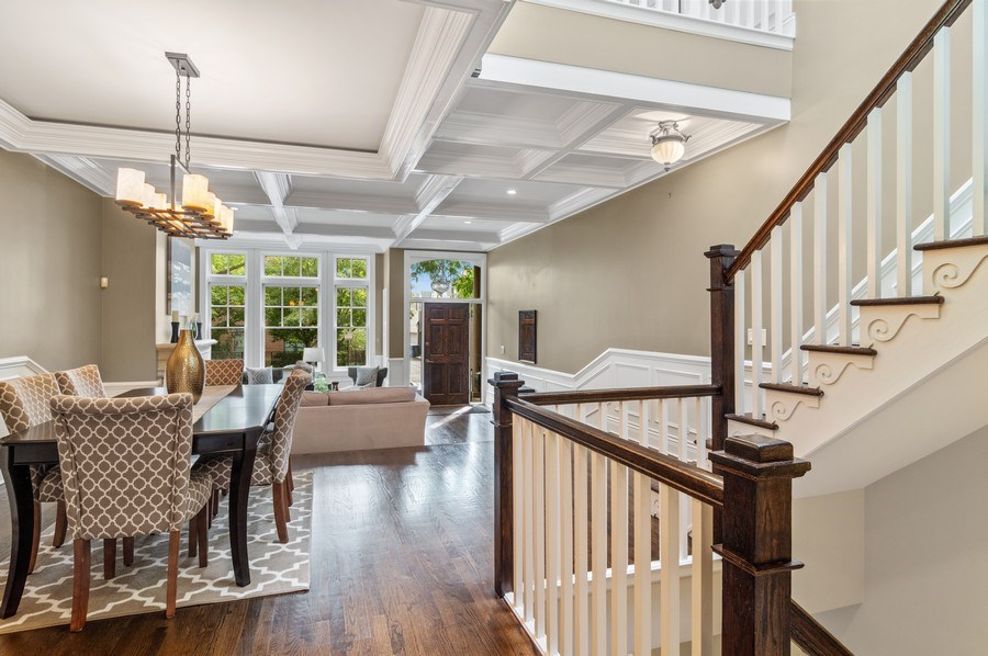 Real Estate Photography - 2514 N Greenview, Chicago, IL, 60614 - Living Room/Dining Room