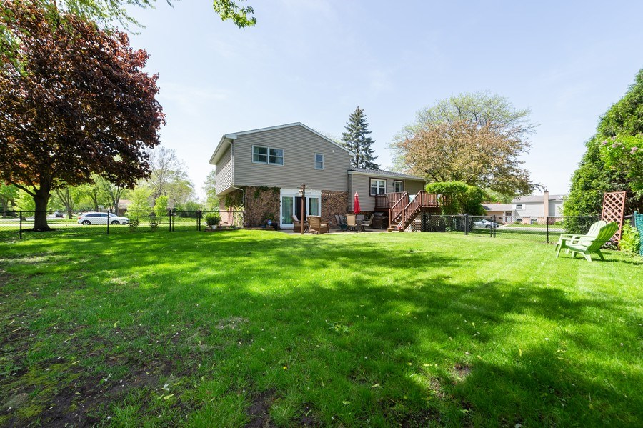 Real Estate Photography - 1405 S Highland, Arlington Heights, IL, 60005 - Back Yard