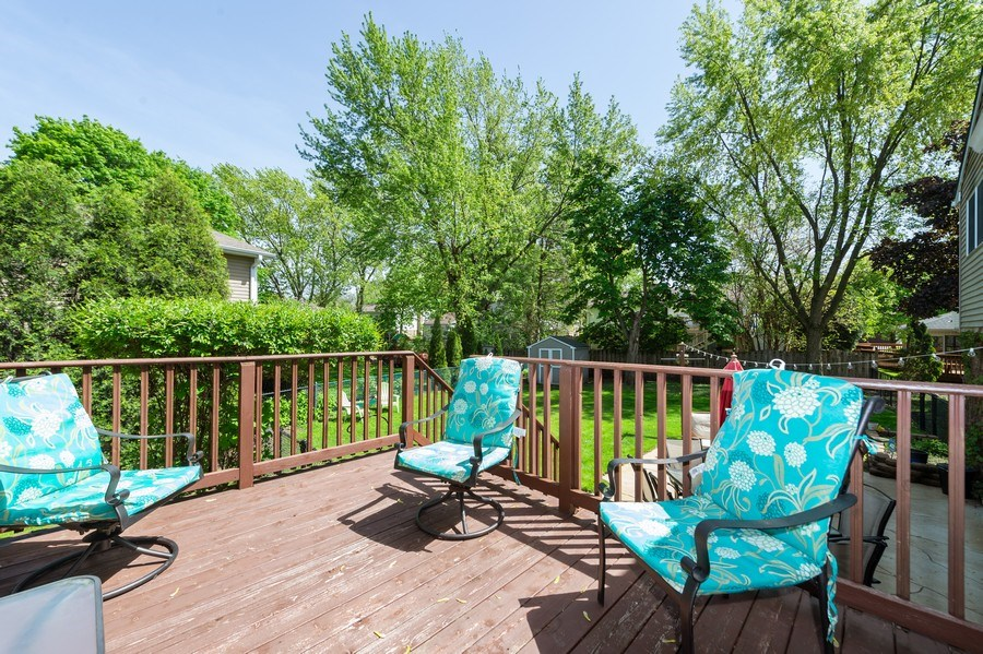 Real Estate Photography - 1405 S Highland, Arlington Heights, IL, 60005 - Deck