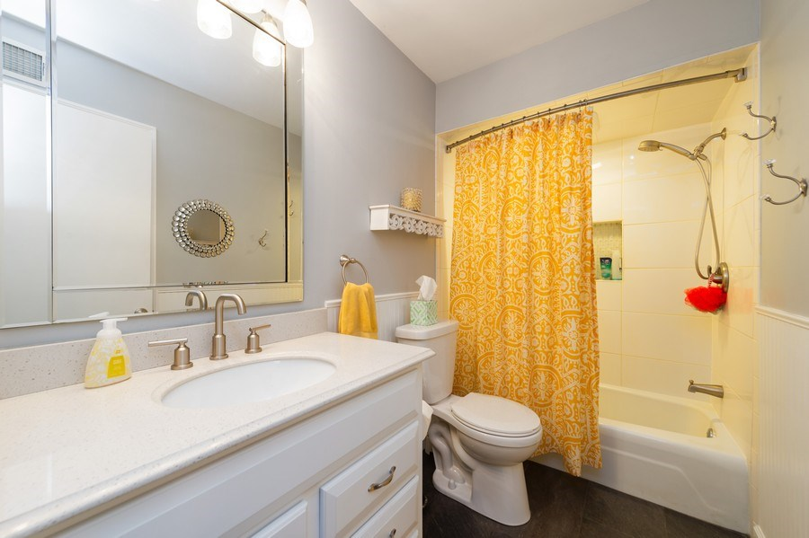 Real Estate Photography - 1405 S Highland, Arlington Heights, IL, 60005 - Bathroom