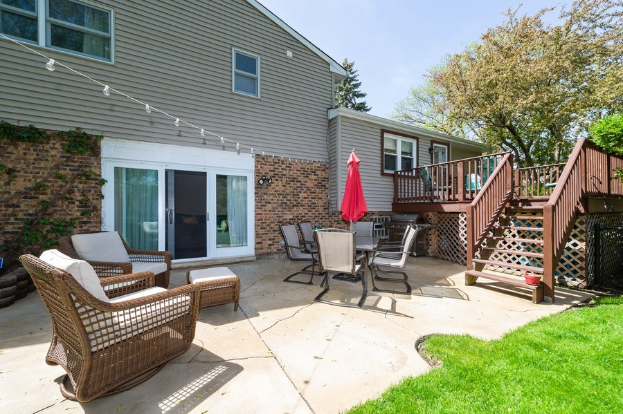 Real Estate Photography - 1405 S Highland, Arlington Heights, IL, 60005 - Patio