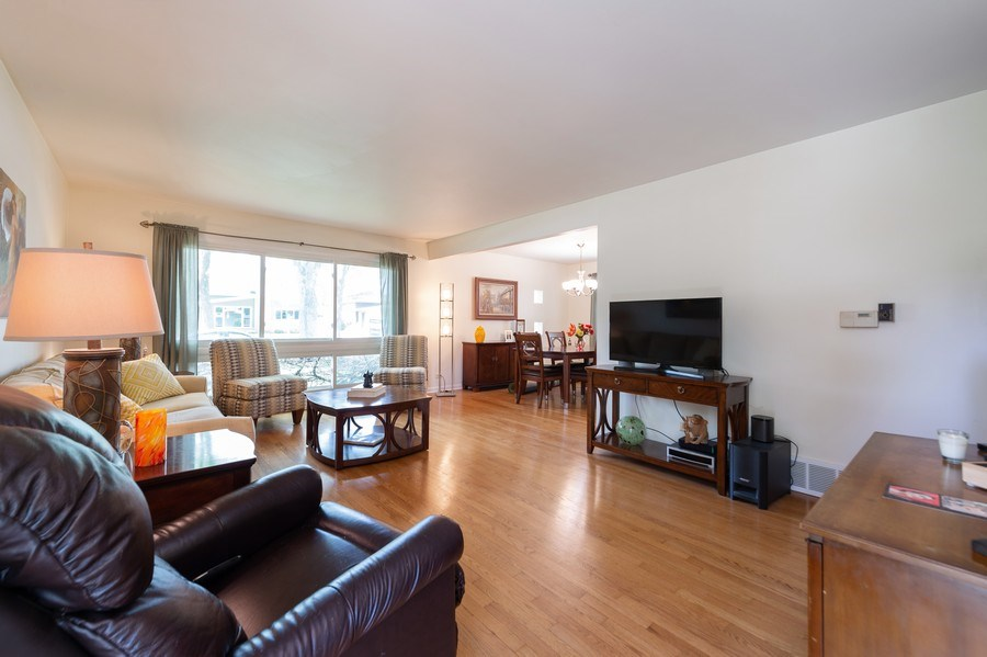 Real Estate Photography - 1415 N Highland, Arlington Heights, IL, 60004 - Living Room