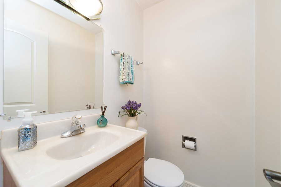 Real Estate Photography - 1415 N Highland, Arlington Heights, IL, 60004 - Bathroom