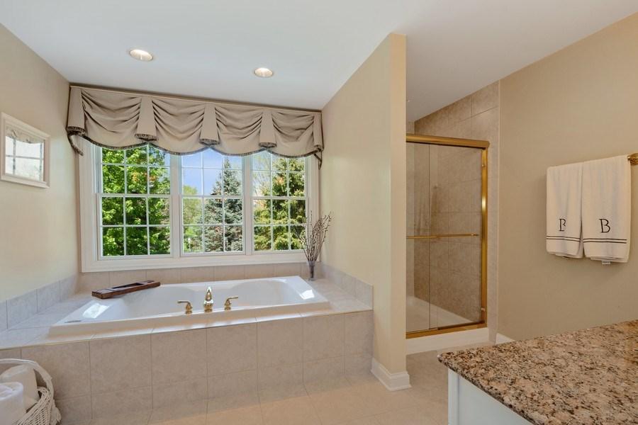 Real Estate Photography - 28471 W Casey Ct, Lake Barrington, IL, 60010 - Master Bathroom