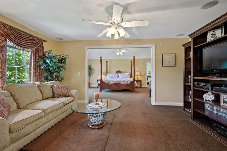 Real Estate Photography - 28471 W Casey Ct, Lake Barrington, IL, 60010 - Master Bedroom/Sitting Room