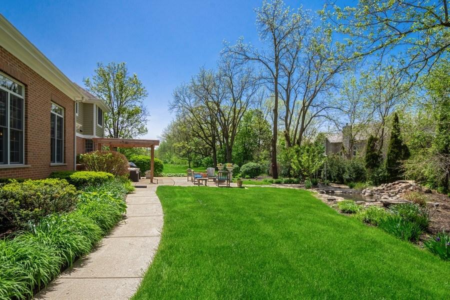 Real Estate Photography - 28471 W Casey Ct, Lake Barrington, IL, 60010 - Back Yard