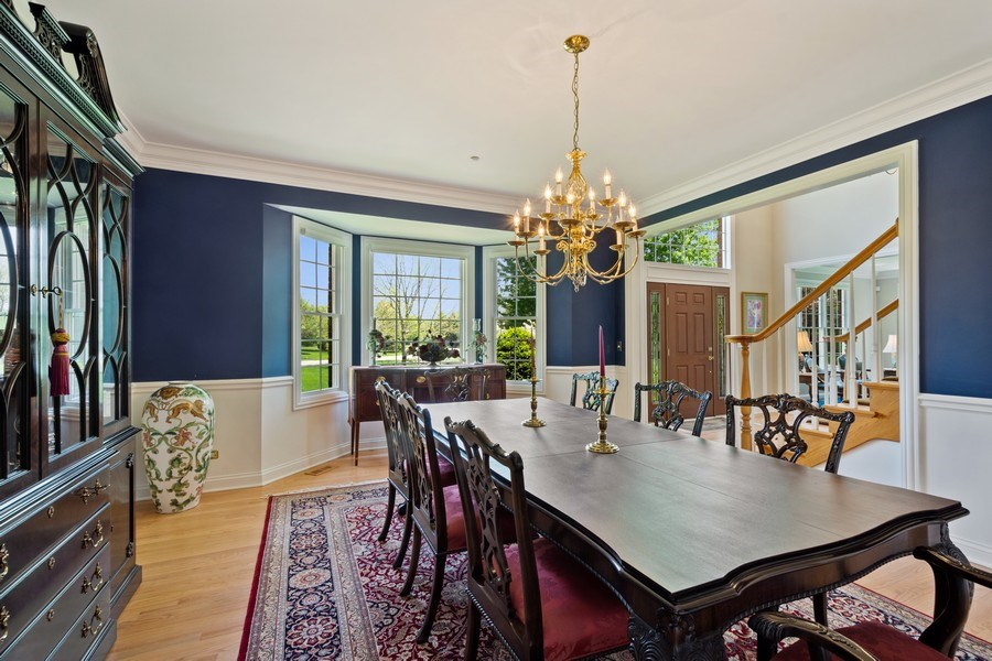 Real Estate Photography - 28471 W Casey Ct, Lake Barrington, IL, 60010 - Dining Room