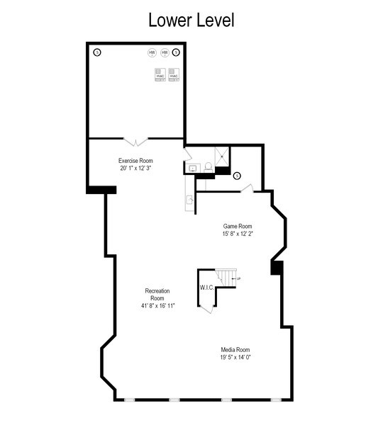 Real Estate Photography - 28471 W Casey Ct, Lake Barrington, IL, 60010 - Floor Plan