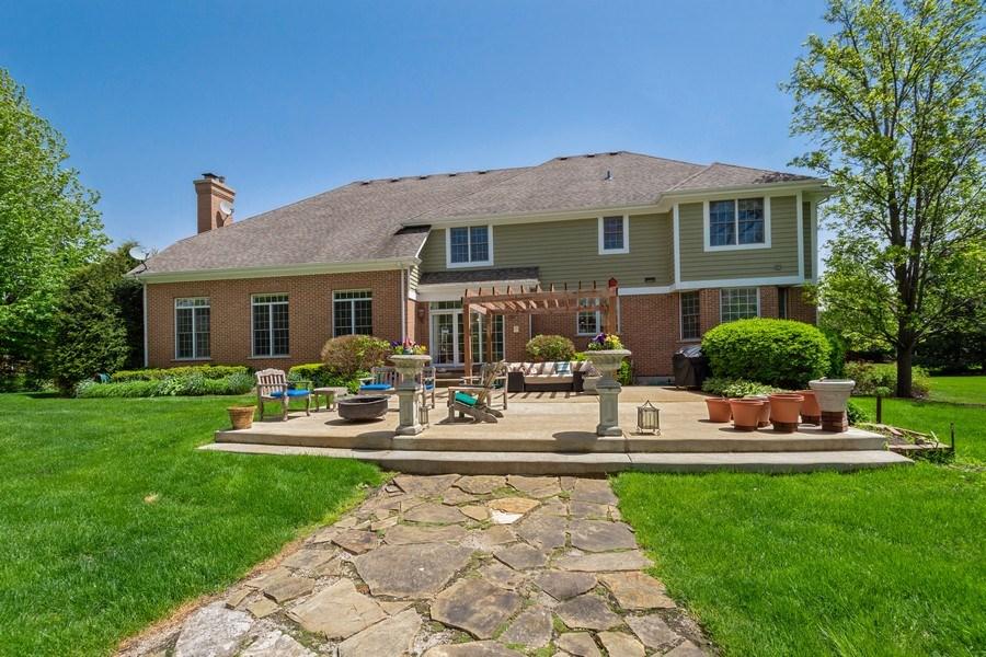 Real Estate Photography - 28471 W Casey Ct, Lake Barrington, IL, 60010 - Rear View