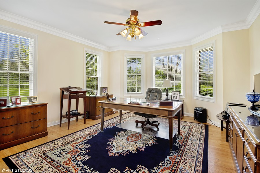 Real Estate Photography - 28471 W Casey Ct, Lake Barrington, IL, 60010 - Office