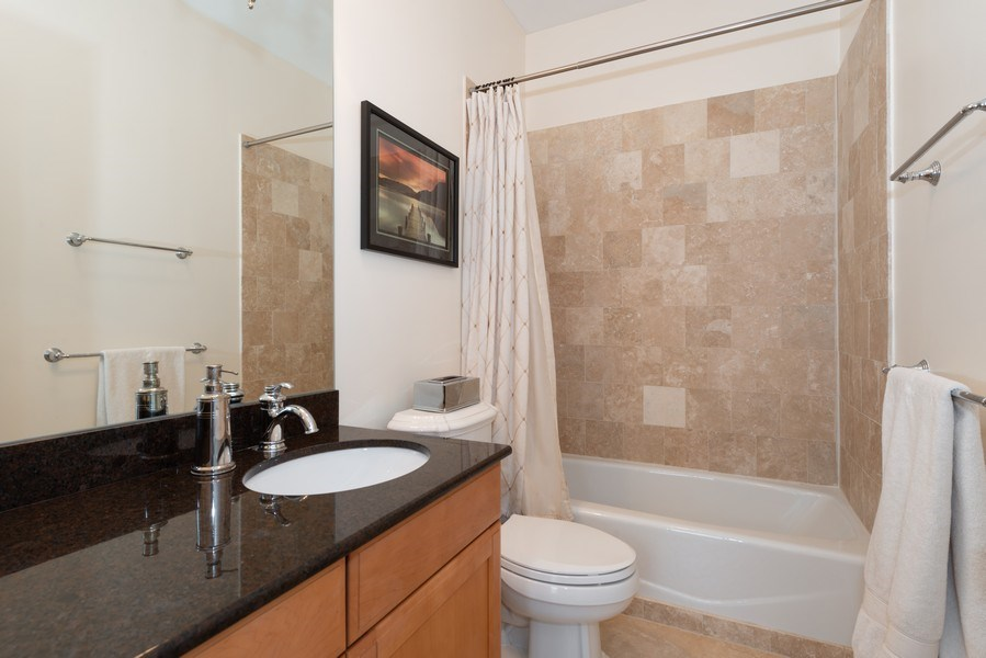 Real Estate Photography - 3842 N Southport, Unit k, Chicago, IL, 60613 - 3rd Bathroom