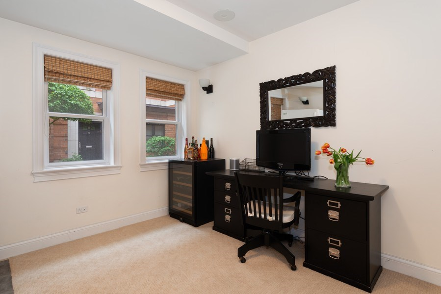 Real Estate Photography - 3842 N Southport, Unit k, Chicago, IL, 60613 - 4th Bedroom