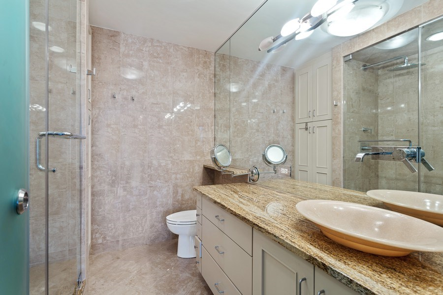 Real Estate Photography - 1240 N Lake Shore Dr, Unit 12B, Chicago, IL, 60610 - Master Bathroom