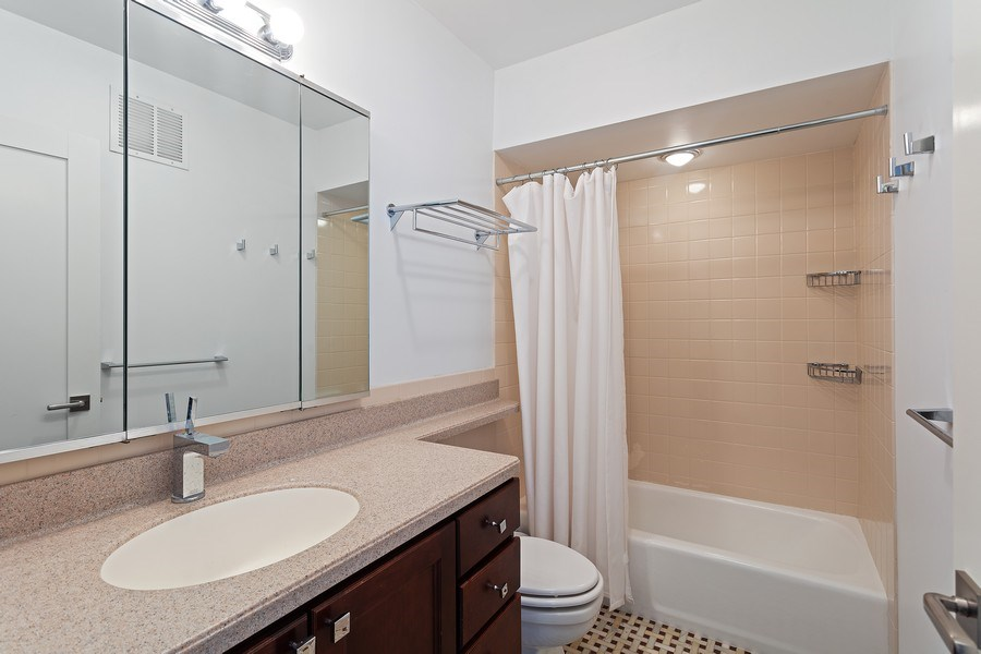 Real Estate Photography - 1240 N Lake Shore Dr, Unit 12B, Chicago, IL, 60610 - Guest Bathroom
