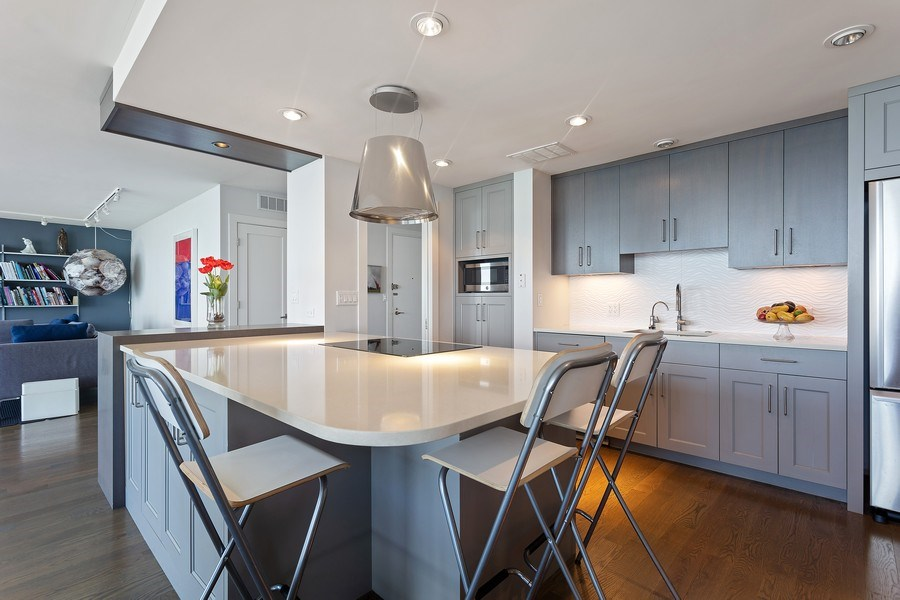 Real Estate Photography - 1240 N Lake Shore Dr, Unit 12B, Chicago, IL, 60610 - Kitchen