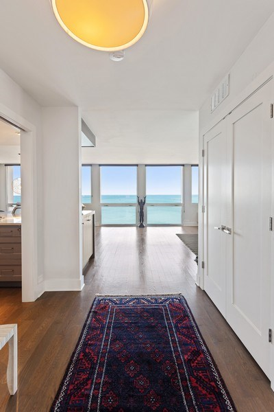 Real Estate Photography - 1240 N Lake Shore Dr, Unit 12B, Chicago, IL, 60610 - Entryway