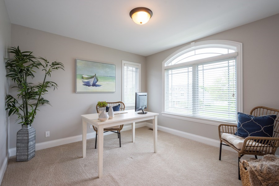 Real Estate Photography - 756 E Sunnyside Ave, Libertyville, IL, 60048 - 2nd Bedroom