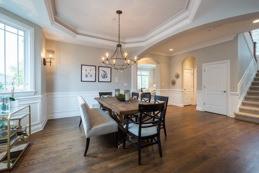 Real Estate Photography - 756 E Sunnyside Ave, Libertyville, IL, 60048 - Dining Room