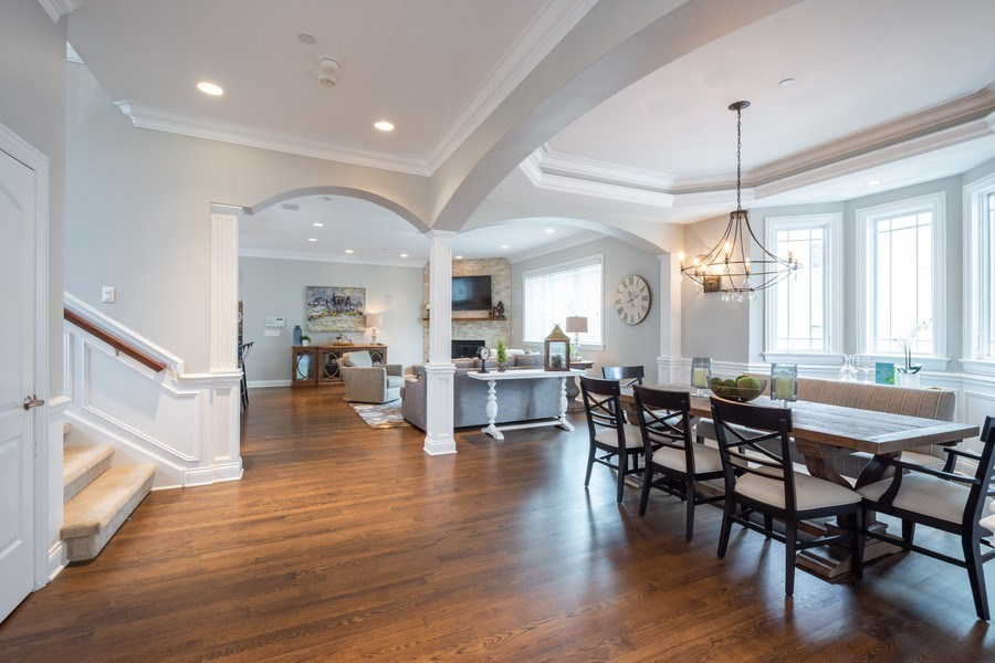 Real Estate Photography - 756 E Sunnyside Ave, Libertyville, IL, 60048 - Dining