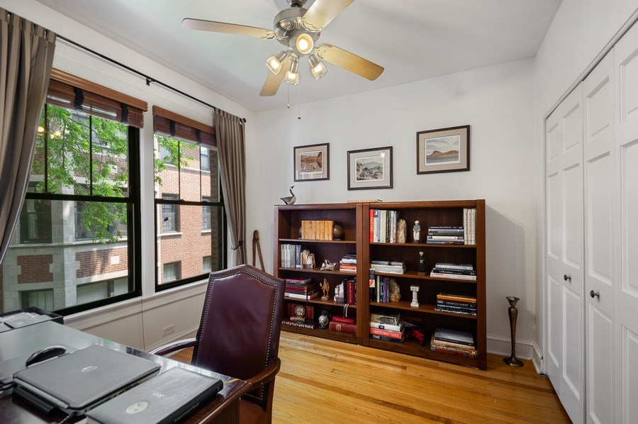 Real Estate Photography - 7631 N Eastlake Terrace, Unit 2B, Chicago, IL, 60626 - 2nd Bedroom
