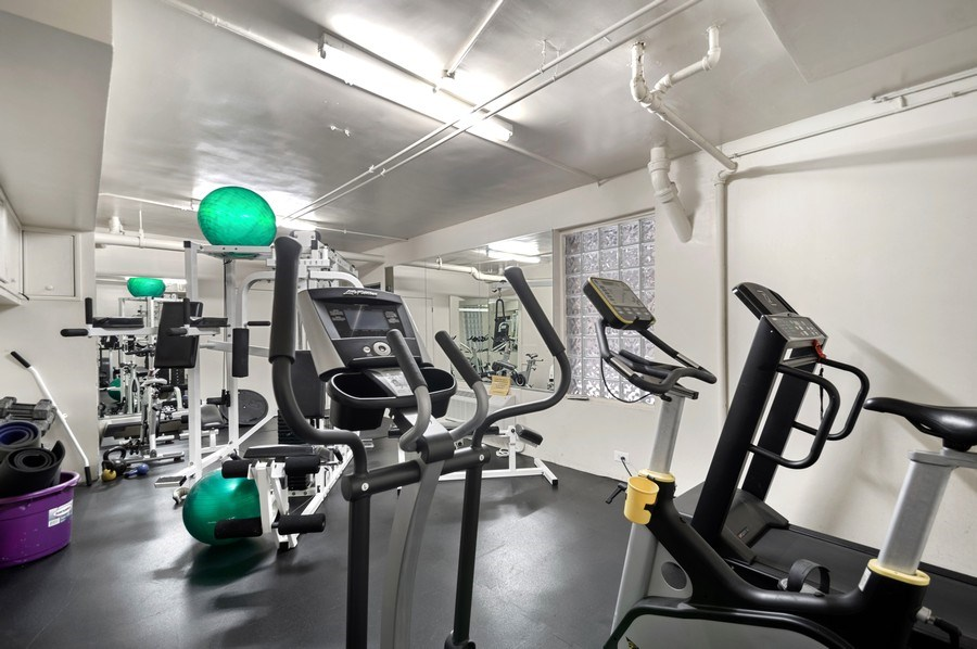 Real Estate Photography - 7631 N Eastlake Terrace, Unit 2B, Chicago, IL, 60626 - Common Exercise room