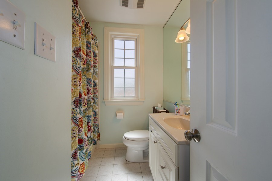 Real Estate Photography - 6229 N Leona Ave, Chicago, IL, 60646 - Master Bathroom