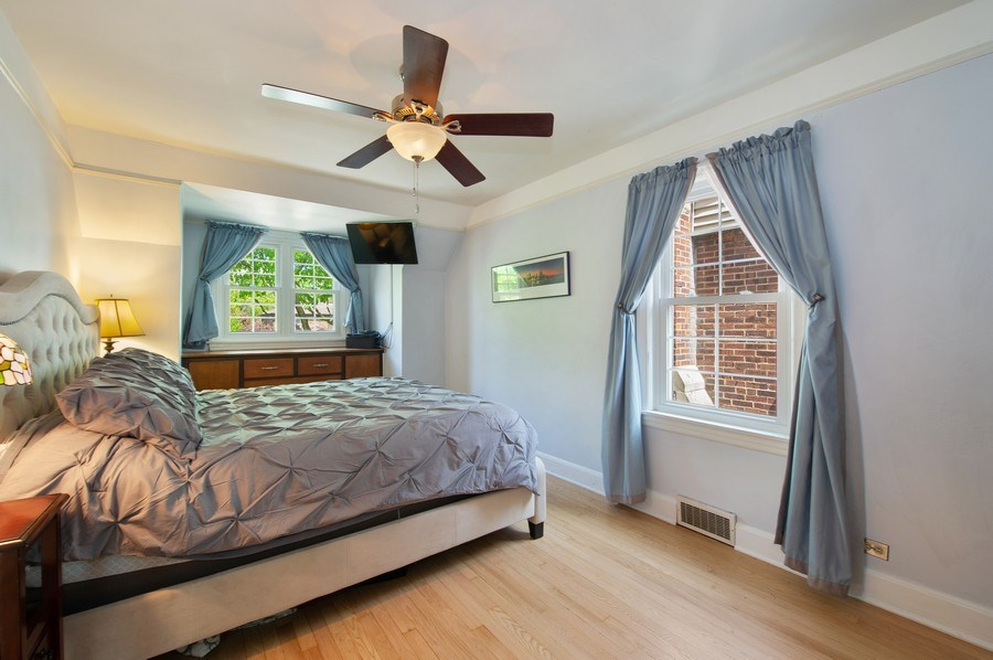 Real Estate Photography - 6229 N Leona Ave, Chicago, IL, 60646 - Master Bedroom