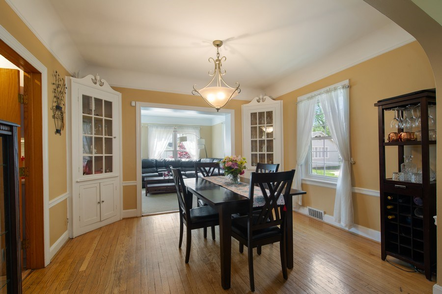 Real Estate Photography - 6229 N Leona Ave, Chicago, IL, 60646 - Dining Room
