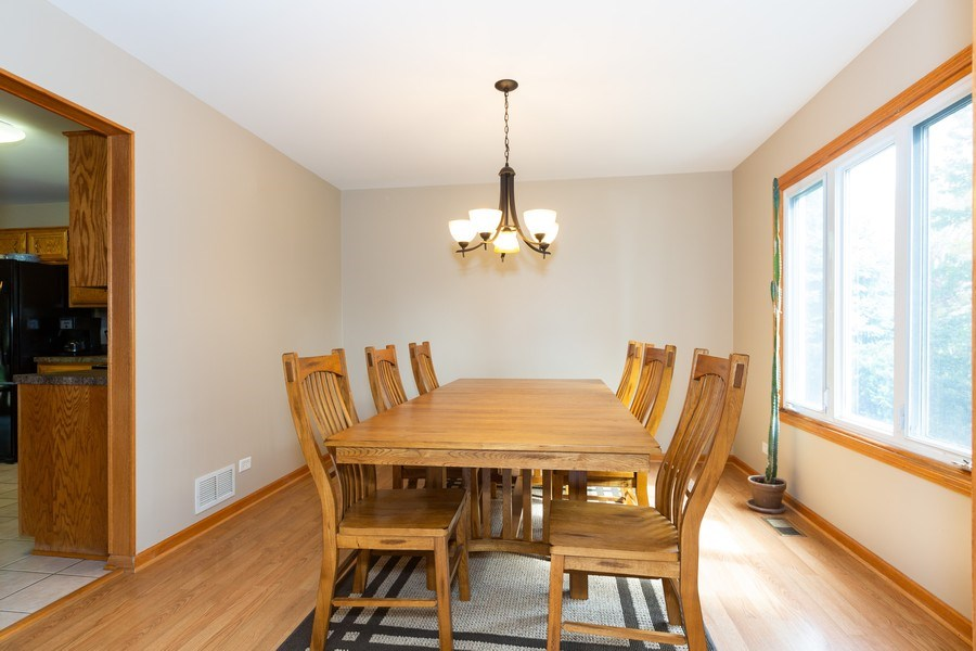 Real Estate Photography - 3975 Coneflower Cir, Coal City, IL, 60416 - Dining Room