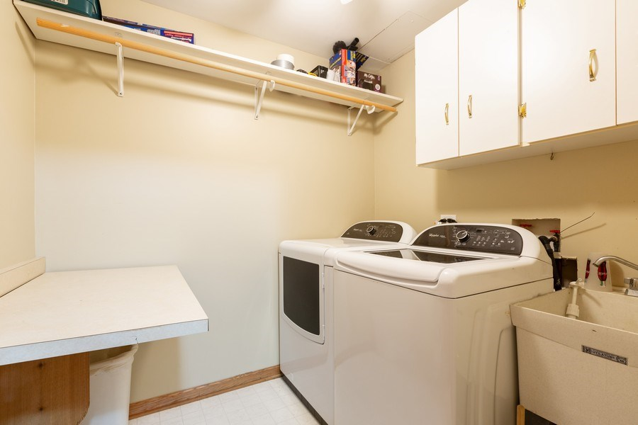 Real Estate Photography - 3975 Coneflower Cir, Coal City, IL, 60416 - Laundry Room