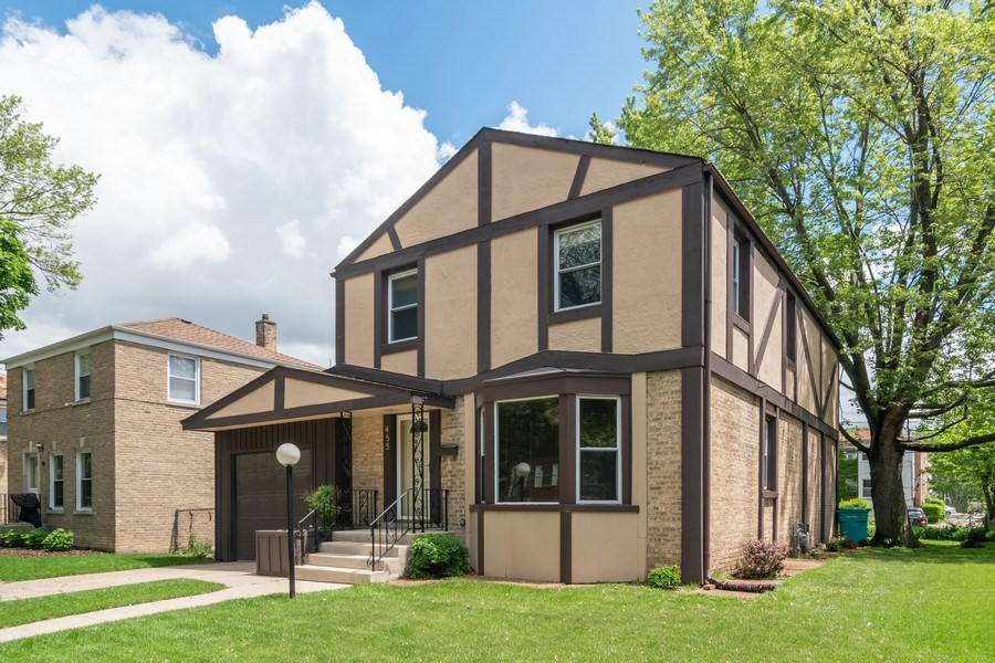 Real Estate Photography - 455 N Laverne Ave, Hillside, IL, 60162 - Front View