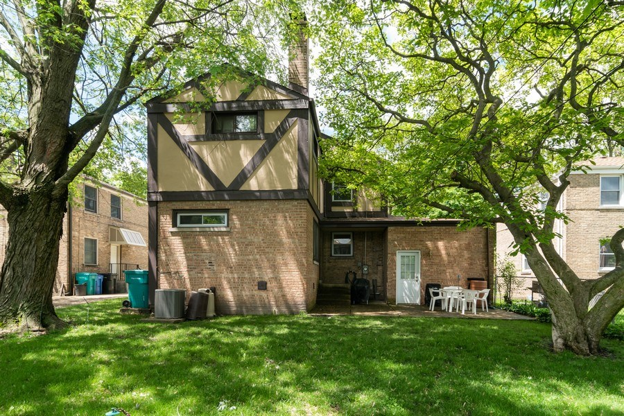 Real Estate Photography - 455 N Laverne Ave, Hillside, IL, 60162 - Rear View