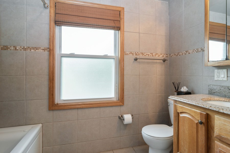 Real Estate Photography - 455 N Laverne Ave, Hillside, IL, 60162 - Bathroom