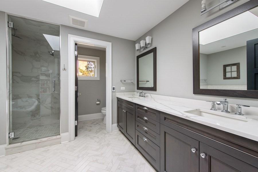 Real Estate Photography - 2019 W Wellington, Chicago, IL, 60618 - Master Bathroom