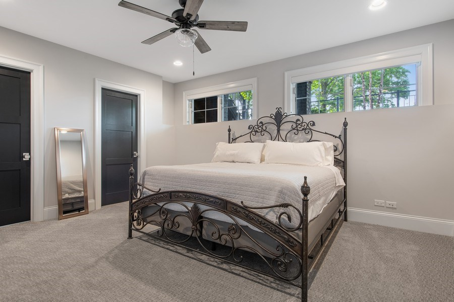 Real Estate Photography - 2019 W Wellington, Chicago, IL, 60618 - 5th Bedroom