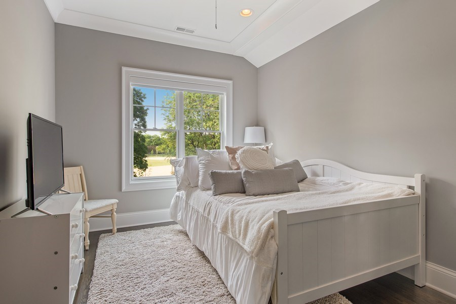 Real Estate Photography - 2019 W Wellington, Chicago, IL, 60618 - 3rd Bedroom