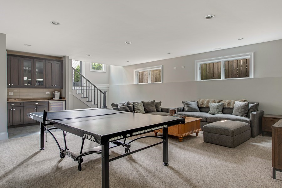 Real Estate Photography - 2019 W Wellington, Chicago, IL, 60618 - Lower Level