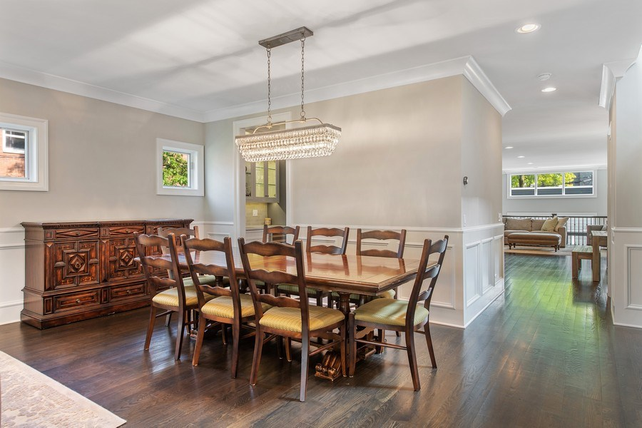 Real Estate Photography - 2019 W Wellington, Chicago, IL, 60618 - Dining Room
