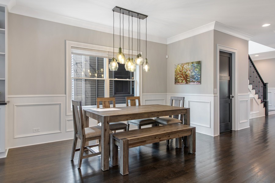 Real Estate Photography - 2019 W Wellington, Chicago, IL, 60618 - Breakfast Area