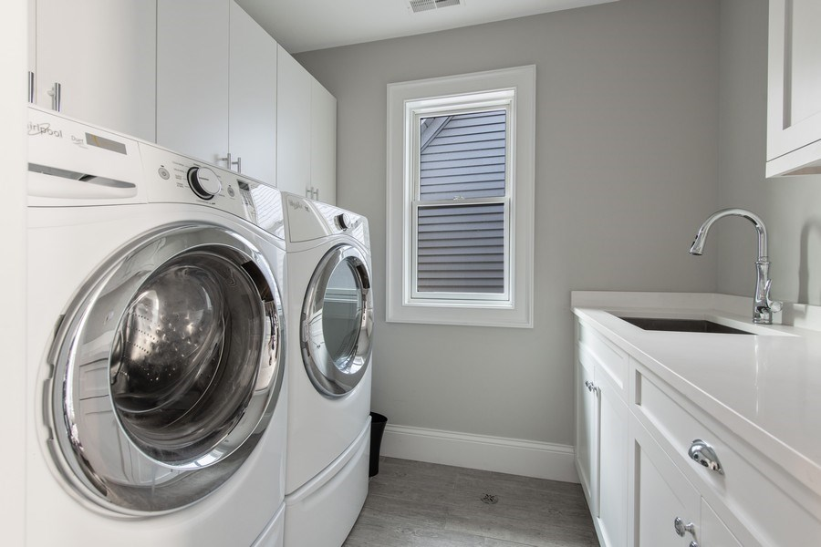 Real Estate Photography - 2019 W Wellington, Chicago, IL, 60618 - Laundry Room