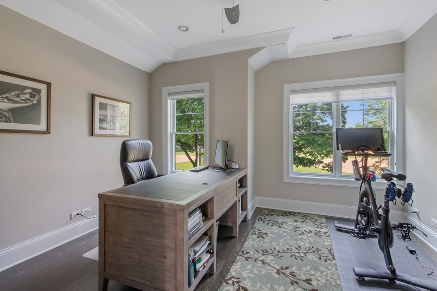 Real Estate Photography - 2019 W Wellington, Chicago, IL, 60618 - 4th Bedroom