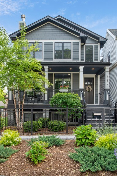 Real Estate Photography - 2019 W Wellington, Chicago, IL, 60618 - Front View
