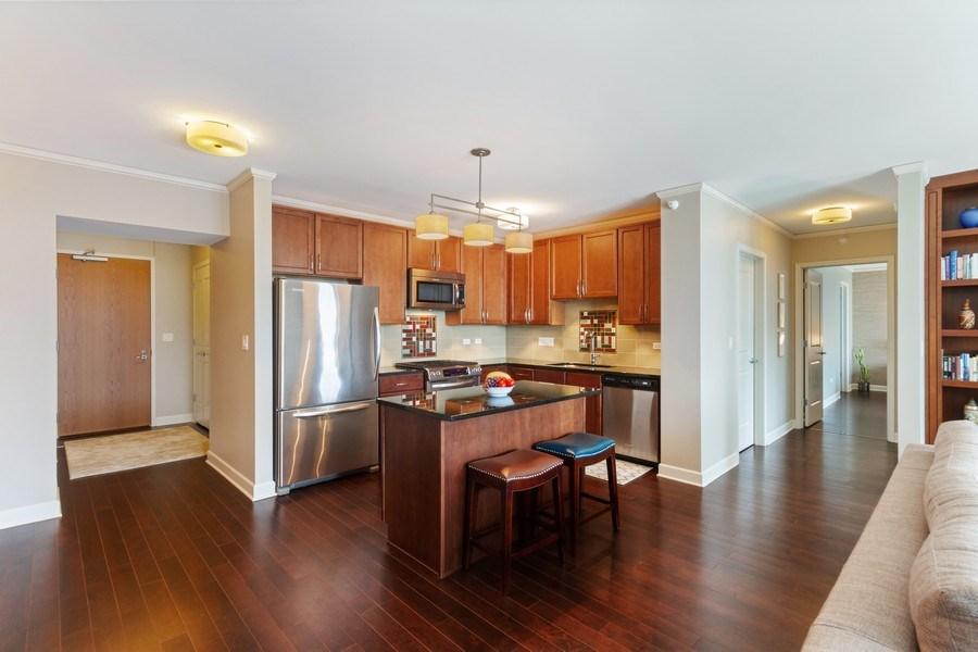Real Estate Photography - 225 N Columbus Dr, Unit 6708, Chicago, IL, 60601 - Kitchen